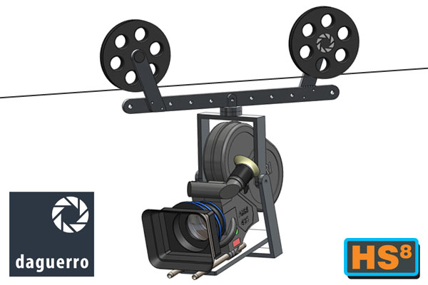 The new HS8 ALBO cable dolly